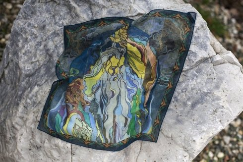 """""""Bóg Ojciec - Stań się"""" witraż Stanisław Wyspiański"""