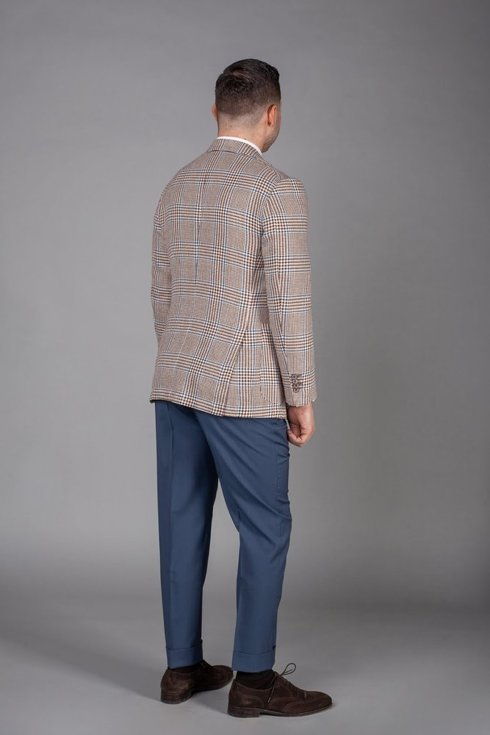 Preorder: Spodnie wełniane petrol