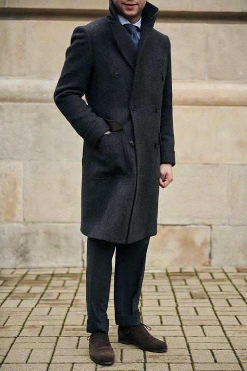Preorder: wełniane spodnie w pepitę