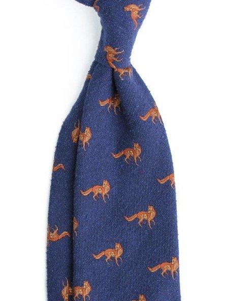 krawat w lisy