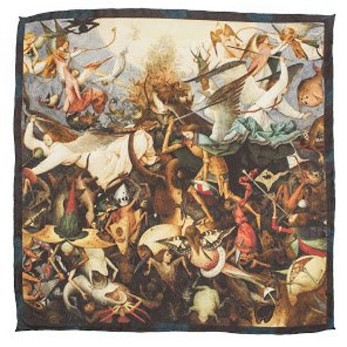 """poszetka Obrazy Mistrzów """"Upadek zbuntowanych aniołów"""" Pieter Bruegel Starszy"""